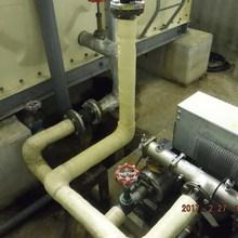 貯水槽配管工事